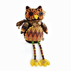 HARVEST OWL SITTER Retail Price was $14.00 Now only $6.00!