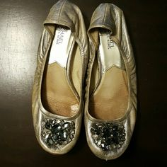 Michael Kors flats with rhinestones Adorable Michael Kors flats perfect for work or a night out MICHAEL Michael Kors Shoes Flats & Loafers