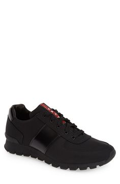 PradaLeatherSneaker(Men)availableat - Prada Shoes Mens - Ideas of Prada Shoes Mens - PradaLeatherSneaker(Men)availableat Casual Sneakers, Leather Sneakers, Casual Shoes, Prada Sneakers For Men, Black Sneakers, Men's Sneakers, Italian Shoes For Men, Monk Strap Shoes, Prada Men