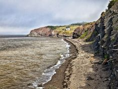 World famous fossil cliffs on the Bay of Fundy, at Joggins, Nova Scotia   Visit Nova Scotia - A Slice of Scotland in Canada
