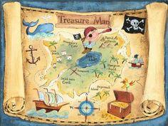 kincses térkép