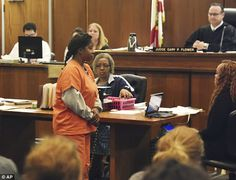 Before the court: Gloria Williams (above) was ordered held without bond after her first co...