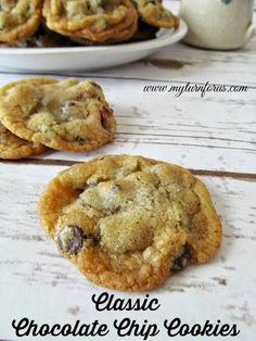 The most popular cookie here on the Ranch is the Classic Chocolate Chip Cookie!! Nothing special just a great chocolate chip Cookie! http://www.myturnforus.com/2015/05/classic-chocolate-chip-cookies.html