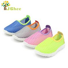 2018 Summer Fashion Kids Shoes Cut-outs Air Mesh Breathable Shoes For Boys  Girls Children Sneakers Baby Boy Girl Sandals. 60b274eda432