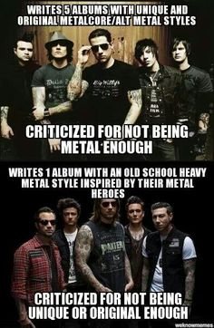 fuck haters  #avenged sevenfold  the new album (and their old ones) are fucking amaizing