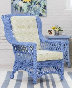 Wicker Furniture by Maine Cottage Sunroom Furniture, Wicker Furniture, Painted Furniture, Furniture Design, Outdoor Wicker Chairs, Wicker Sofa, Rattan Armchair, King Size Comforter Sets, Wicker Bedroom