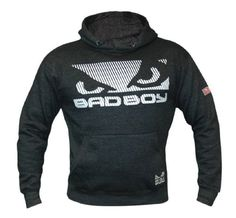 Bad Boy Elite Hoodie - Dark Grey - Medium - What The Athletes are Sporting Bad Boy Mma, Mma Clothing, Fight Wear, Mma Shorts, Mma Gear, Mma Training, Mma Boxing, Mixed Martial Arts, Pet Clothes