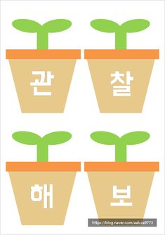Learn Korean, Borders And Frames, Art For Kids, Diy And Crafts, Kindergarten, Language, Clip Art, Classroom, Science