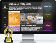25hours hotels Website Relaunch WebAward
