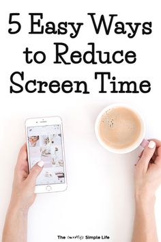 5 Strategies for Adults to Reduce Screen TimeLimiting screen time is tough! Especially for adults. We could all use a digital detox from our phones, social media, video games, and more so that we can Detox Tips, Detox Recipes, Juice Recipes, Phone Detox, Social Media Detox, Detox Challenge, Digital Detox, Detox Plan, No Time For Me
