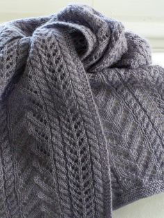 Ravelry: Easy as Pie Scarf by Megan Delorme