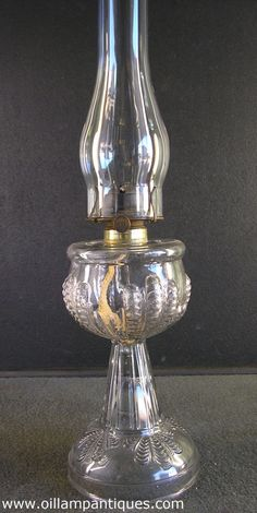 oil lamps | ... glass Turkey Foot stand oil lamp kerosene lamp | Oil Lamp Antiques