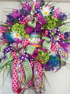 24 inch Whimical Bumble Bee Mesh Spring and Summer Wreath by WilliamsFloral on Etsy https://www.etsy.com/listing/273462578/24-inch-whimical-bumble-bee-mesh-spring
