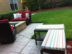 Gartenideen - Holzbank selber bauen