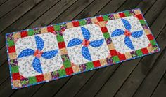 Quilt in a not-Shell: Table Runner