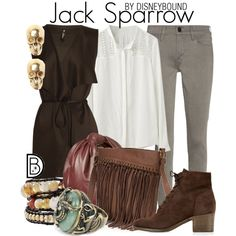 Pirates Of The Caribbean Jack Sparrow Outfit