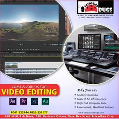 Animation Bugs provides the Best Video Editing Course in Jalandhar. The main objective of our video editing course is to produce excellent video editors that would be able to work anywhere in the world as video editors. We have the great reputation in providing high-quality training. We never compromise with our standards of delivering high-quality lectures to our students. In order to make it more convincing for you, we are offering free demo classes.