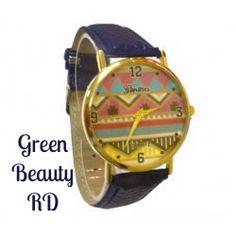 Reloj Disponible! Pedidos y Precios contacto@greenbeautyrd.com y al Whatsapp 809-907-2014 #GreenBeautyLovers #GreenBeautyGirl