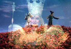 "Glinda makes it snow......  ""The Wizard of Oz"""