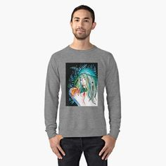 Evergreen Lightweight Sweatshirt Front
