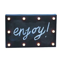 10 LED Chalkboard Party Lights
