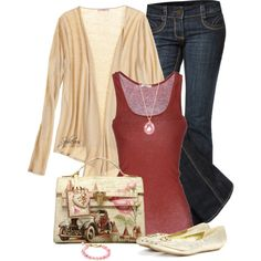 Vintage, created by spherus on Polyvore