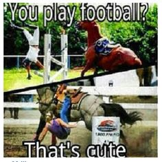 Silly football players