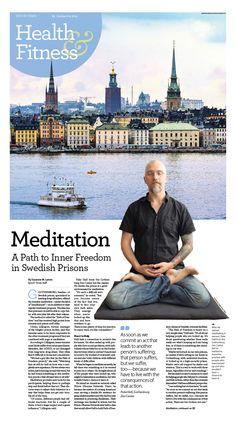 Meditation a Path of Freedom in Swedish Prisons Epoch Times #newspaper #editorialdesign