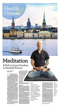 Meditation a Path of Freedom in Swedish Prisons|Epoch Times #newspaper #editorialdesign