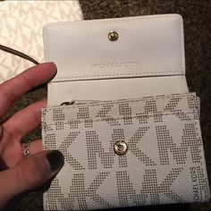authentic MK wallet. In good condition, matches the cross body bag also listed! Check it out. NO TRADES Michael Kors Bags Wallets