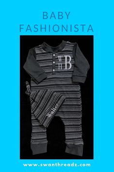 Are you looking for cute baby boy clothes? SwanThreadz has custom baby clothes available in a variety of sizes. This black and white henley coverall is made for you at the time of order and is sure to be on your must-have list! Cute Baby Boy Outfits, Cute Baby Clothes, Personalized Baby Clothes, Baby Fashionista, Cute Babies, Black And White, Boys, Baby Boys, Black N White