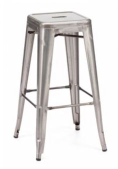 Modrest Detroit Modern Steel Bar Stool VGCBT5046-STEELProduct: 15458|72799 Features:Modern Grey Bar StoolStrong and sturdy constructionElegant StyleWill completely transform your living spaceExcellent CraftsmanshipUnique Design Dimensions:Bar Stool : W17