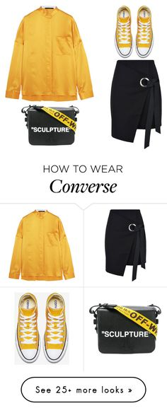 """""""sky"""" by skyl19 on Polyvore featuring Haider Ackermann, George J. Love and Off-White"""