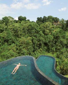 """Über den Wipfeln ist Ruh':  Die """"Ubu Hanging Gardens"""" auf Bali bestehen aus 38..."""