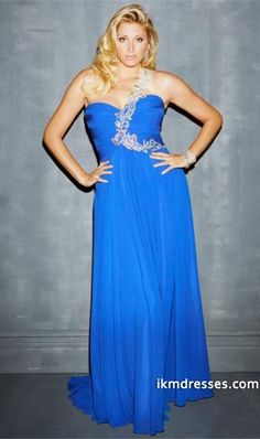 http://www.ikmdresses.com/2014-Plus-Size-One-Shoulder-Beaded-Straps-Pleated-Bodcie-A-Line-Chiffon-Skirt-Prom-Dress-p83859