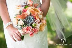 Love this pink and orange combination!