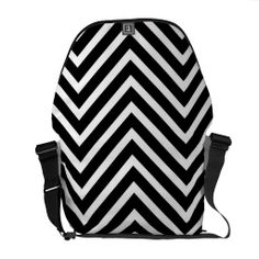 Modern bag with black and white chevron pattern commuter bags Spring Fashion Outfits, Trendy Fashion, Fall Fashion, Leather A Line Skirt, Commuter Bag, Pack Your Bags, Beautiful Bags, Beautiful Gifts, Thigh High Boots