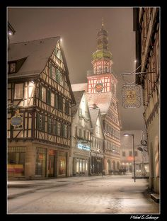 christmas town-oh how I love Europe...