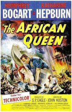 The African Queen Humphrey Bogart Movie Poster 11x17 – BananaRoad