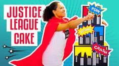 How To Make A JUSTICE LEAGUE Superhero-Inspired Birthday CAKE | Yolanda ...