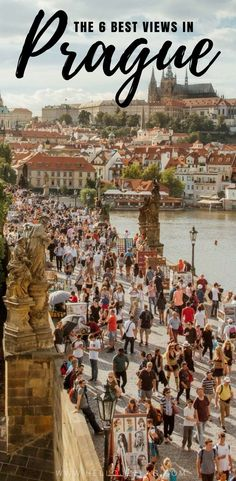 Mar 2018 - Prague is one of the most beautiful cities in the world and it looks good from any angle. Keep reading to discover where to go in Prague for 6 of the best views and photo spots in the city. Europe Travel Guide, Europe Destinations, Budget Travel, Prague Photography, Travel Photography, Prague Photos, Republic Pictures, Europe Holidays, Prague Travel