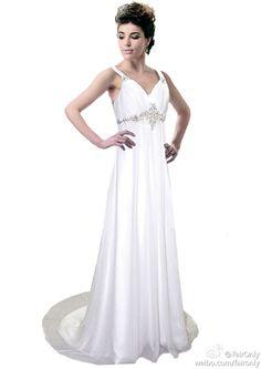 FairOnly 2014 New Straps White Ivory Wedding Dress Stock Size 6 8 10 12 14 16 #FairOnly