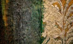 Crumbling Wallpaper and Paint Cracked Peeling Layers by CiaraOHare, €40.00