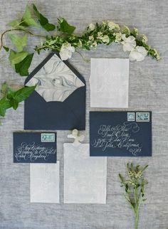 Navy invitations: http://www.stylemepretty.com/2015/09/14/romantic-italian-villa-wedding-inspiration-2/ | Photography: Greg Finck - http://www.gregfinck.com/