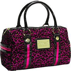 Betseyville Cha Cha Cheetah Barrel Satchel - Pink - via eBags.com!
