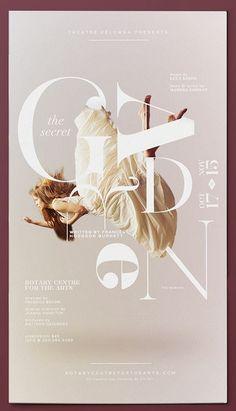 poster   The Secret Garden by Darbi Nicole    #typography