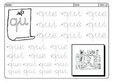 Grafismos de las letras - Secretos Marlove Calligraphy, Math Equations, Words, Literacy Activities, Texts, Alphabet, Home, Learning To Write, Cursive Letters