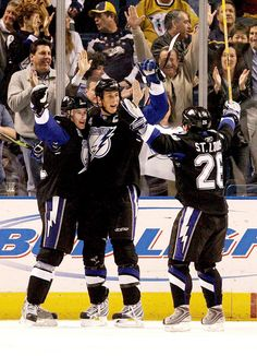 Vincent Lecavalier is the captain for many reasons in Tampa Bay. His leadership both on and off the ice helps pave the way for others to follow in his footsteps. #Tampa #TampaBay #Lightning #hockey #NHL #Quebec #Canada #charity #sports #athlete #sports