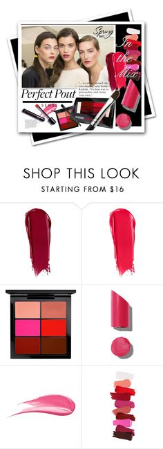 """""""Perfect Pout: In the Mix"""" by watereverysunday ❤ liked on Polyvore featuring beauty, NARS Cosmetics, MAC Cosmetics, Chanel and Hourglass Cosmetics"""