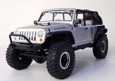 JEEP WRANGLER RC CAR | Re: Projet scx10 Jeep Wrangler Unlimted Rubicon !!!